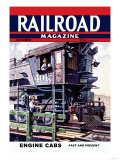 Railroad Magazine: Engine Cabs  1943