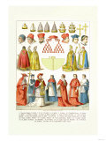 French Clergy Headwear and Vestments