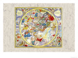 Celestial Sky Chart