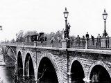 Train Bridge  Philadelphia  Pennsylvania