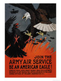 Join the Army Air Service: Be an American Eagle!