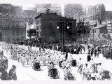 Parade near City Hall  Philadelphia  Pennsylvania