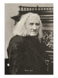 Liszt in His 75th Year