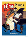 Bord Pianos  The First Lesson