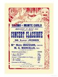 Concert at the Monte Carlo Casino