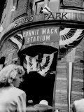 Connie Mack Stadium  Formerly Shibe Park  Philadelphia  Pennsylvania