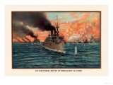 Naval Battle of Manil May 1st  1898