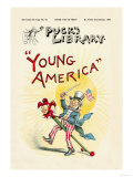 Puck's Library: Young America