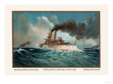 Battleship Texas  Battleship Iowa  and Torpedoboat Porter  1899