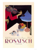 Rosatsch: Cafe-Restaurant  Tea Room  Hotel