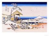View of Mount Fuji in Winter