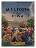 Iowa vs Minnesota  1953
