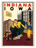 Iowa vs Indiana  1931