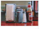 Tomato Catsup photorealistic artwork by Ralph Goings