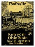 Ohio State vs Kenyon  1929
