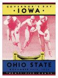 Ohio State vs Iowa  1934