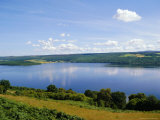 Loch Ness in Summer  from Abriachan  Near Inverness  Highlands Region  Scotland  UK  Europe