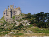 St Michael's Mount  Castle  Cornwall  England  UK