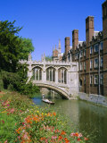 The Bridge of Sighs  St John's College  Cambridge  Cambridgeshire  England  UK