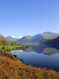 Wastwater  Lake District National Park  Cumbria  England  UK