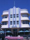 Art Deco Area  Miami Beach  Florida  United States of America (USA)  North America