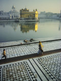 The Golden Temple  Holiest Shrine in the Sikh Religion  Amritsar  Punjab  India