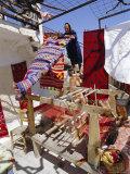 Village Weaver Near Lasithi Plateau  Crete  Greece  Europe