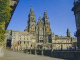 Cathedral  Santiago De Compostela  Galicia  Spain  Europe