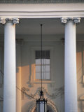 Detail of the White House  Washington DC  United States of America (USA)  North America