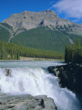 Athabasca Falls  Jasper National Park  Rocky Mountains  Alberta  Canada