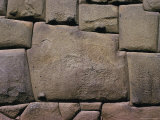 The Stone of Twelve Angles  the Inca Palace of Hatunrumiyoc  Cuzco  Peru