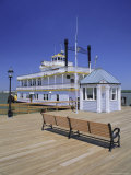 Paddle Steamer and Dock Master's Office  Alexandria  Virginia  USA