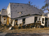Hurricane Damage  Louisiana  USA