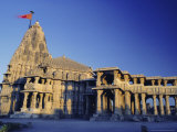 Hindu Temple of Somnath  One of the Twelve Most Sacred Siva Temples  Somnath  Gujarat State  India