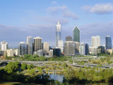 City Skyline  Perth  Western Australia  Australia