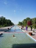 Shalimar (Shalamar) Gardens  Unesco World Heritage Site  Lahore  Punjab  Pakistan  Asia