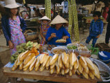 Sandwiches on French Bread  Nha Trang  Vietnam  Indochina  Southeast Asia  Asia