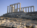 Temple of Poseidon  5th Century  Sounion  Cape Sounion  Greece  Europe