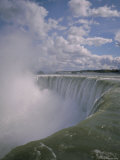 Horseshoe Falls from Table Rock  Niagara Falls  Niagara  Ontario  Canada  North America