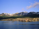 Ushuaia  the Southernmost Town in the Argentine  Argentina  South America
