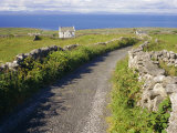 Country Road  Inishmore  Aran Islands  County Galway  Connacht  Republic of Ireland (Eire)  Europe