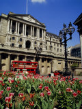 The Bank of England  Threadneedle Street  City of London  England  UK