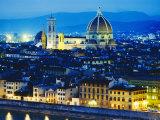 La Badia  San Lorenzo  Cathedral and Campanile  Florence  Italy