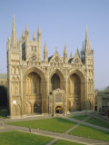 The Cathedral  Peterborough  Cambridgeshire  England  UK