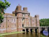 Herstmonceux Castle  East Sussex  England  UK  Europe