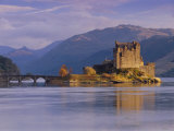 Eilean Donan Castle  Loch Duich  Highland Region  Scotland  UK  Europe