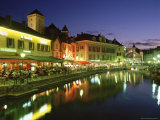 Waterfront Restaurants  Annecy  Haute Savoie  France  Europe