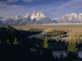 Snake River and the Tetons  Grand Teton National Park  Wyoming  USA