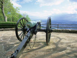 Cannon in Point Park Overlooking Chattanooga City  Chattanooga  Tennessee  United States of America