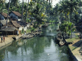 The Backwaters  Kerala State  India  Asia